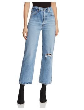 Rib Cage Wide Leg Jeans In Haters Gonna Hate by Levi's