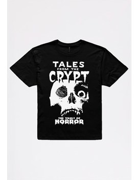 Tales From The Crypt Unisex T Shirt In Black by Librastyle
