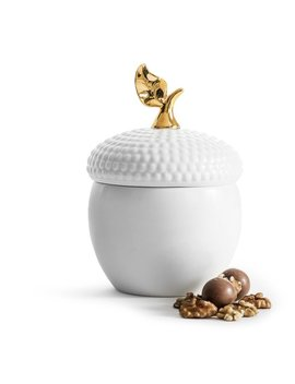 Holiday Acorn Storage Jar by Wayfair