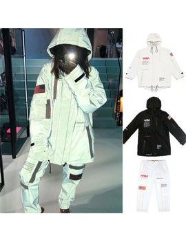 Nasa 3 M Hip Hop Men/Women Pullover Long Sleeve Casual Hoodie Coat Jacket Pants by Unbranded