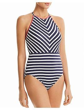 Tommy Bahama Women's One Piece Striped Swimwear by Tommy Bahama