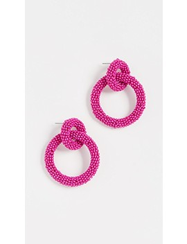 Emma Hoop Earrings by Bauble Bar