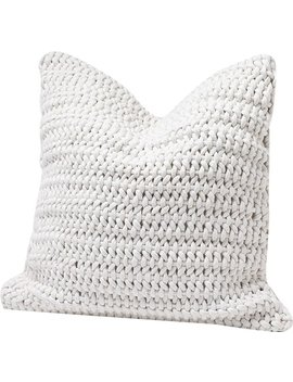 Woven Rope Cotton Throw Pillow Cover by Wayfair