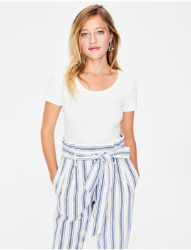Essential Short Sleeve Tee by Boden