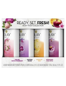 Olay Fresh Outlast Body Wash Sampler Pack   12 Fl Oz by 12 Fl Oz