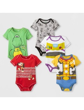 Baby Disney Toy Story 5pk Bodysuits by Disney