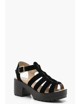 Cleated Fisherman Sandals by Boohoo