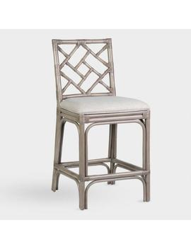 Rattan Victoria Counter Stool by World Market