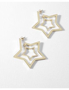 Créoles En Forme D'étoiles by Ted Baker