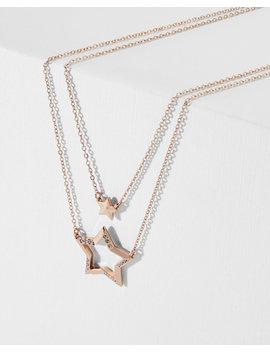 Collier Avec Deux étoiles by Ted Baker
