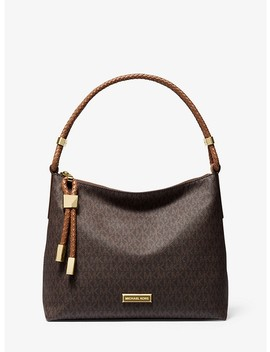 Lexington Medium Logo Shoulder Bag by Michael Michael Kors