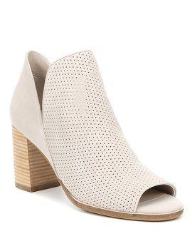 Shiloh Suede Open Toe Bootie by Cole Haan