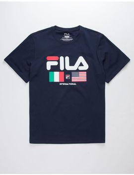 Fila International Mens T Shirt by Fila