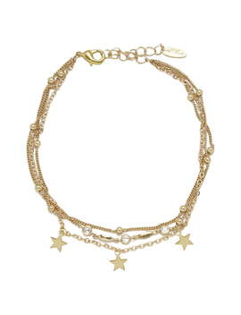 Star Charm Anklet by Ettika