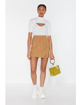 Let's Get One Thing Straight Mini Skirt by Nasty Gal