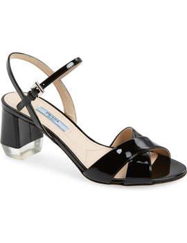 Quarter Strap Sandal by Prada