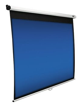 "Manual Series 84"" Pull Down Projector Screen   White by Elite Screens"