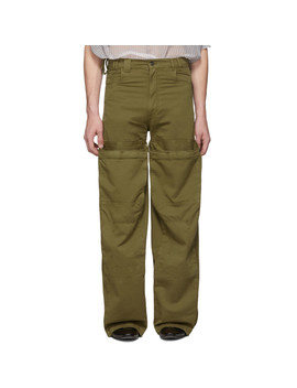Khaki Pop Up Cargo Pants by Y/Project