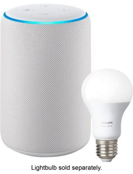 Echo Plus (2nd Gen) Smart Speaker With Alexa   Sandstone by Amazon
