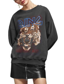 Tiger Sweatshirt by Anine Bing