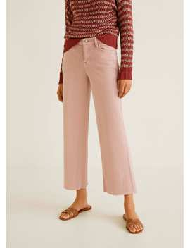 Audrey Crop Jeans by Mango