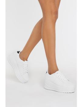 As High As Slope Platform Sneakers by Nasty Gal