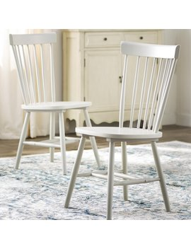 Valdosta Solid Wood Dining Chair by Three Posts