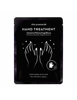 Moisturizing Gloves   Best Hydrating Hand & Nail Mask   Collagen Spa Treatment With Shea Butter   Moisturizer Hands Mask For Women & Men   Spa Kit Repairs Dry Hands  ... by Elixir Premium Lab