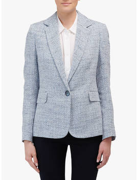 Helene Berman Carine One Button Jacket, Blue by Helene Berman