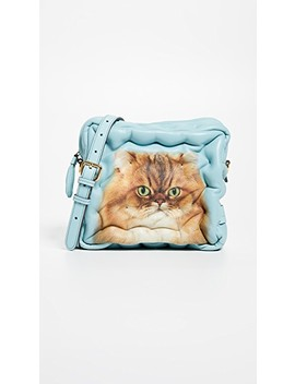 Chubby Cat Cross Body Bag by Anya Hindmarch