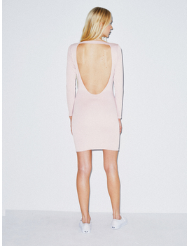 Ponte Backless Dress by American Apparel