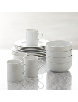 Staccato 16 Piece Dinnerware Set by Crate&Barrel
