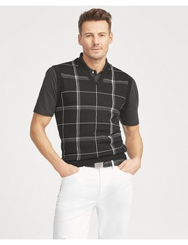 Cotton Blend Sweater Vest by Ralph Lauren