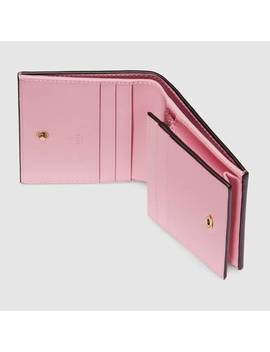 Porte Cartes Gg Imprimé Gucci Strawberry by Gucci