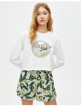 Long Sleeve T Shirt by Pull & Bear