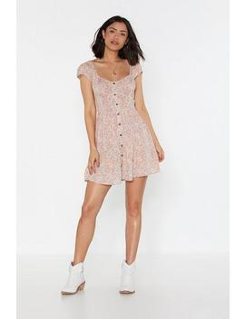 You Grow Girl Floral Mini Dress by Nasty Gal