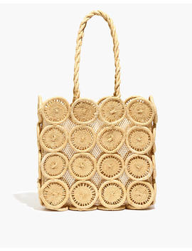The Straw Catania Tote Bag by Madewell