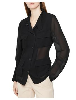 sabri-semi-sheer-utility-shirt by reiss