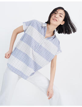 Central Popover Shirt In Delray Plaid by Madewell