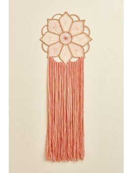 Pink Lotus Wall Hanging by Earthbound