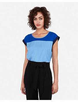 Color Block Gramercy Tee by Express