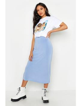 Tall Slinky Midi Skirt by Boohoo