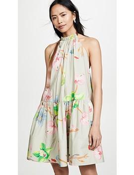 Short Halter Neck Dress by Tibi