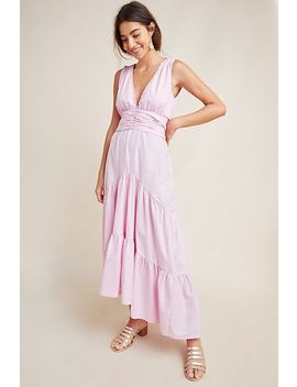 Kensie Tiered Maxi Dress by Misa