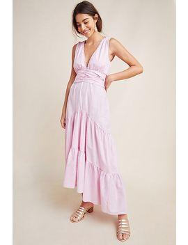 kensie-tiered-maxi-dress by misa