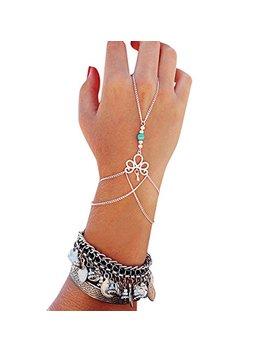 Generic Fashion Retro Bracelet Finger Ring Bangle Slave Chain by Autumn Fall