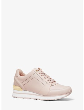 Billie Leather Trainer by Michael Michael Kors