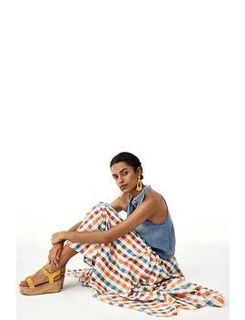 Evelyn Midi Skirt by Maeve