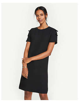 Bow Sleeve T Shirt Shift Dress by Ann Taylor
