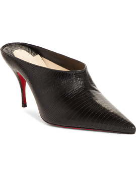Quart Pointy Toe Mule by Christian Louboutin